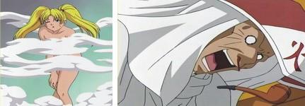 Naruto mengejutkan Sandaime Hokage