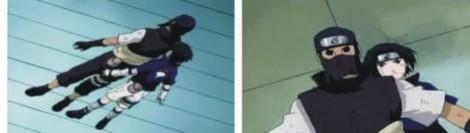 Sasuke membayangi Yoroi