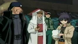 Hokage dan Anko membahas Kabuto