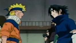 Sasuke menantang Naruto