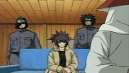 Hokage, Anko, Izumo dan Kotetsu sedang diskusi