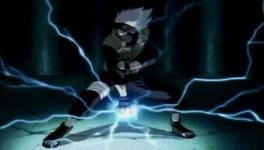 Kakashi saat menjaga Sasuke dari Orochimaru