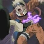 Naruto kena jutsu segel Orochimaru