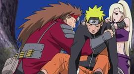 Choji memapah Naruto