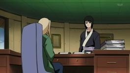 Hokage dan Shizune diskusi