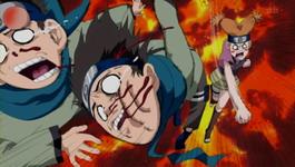 Moegi marah jika Konohamaru melakukan jutsu ini