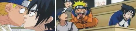 Naruto dan Sasuke berciuman