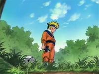 Naruto melihat lonceng terjatuh