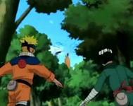 Naruto dan Lee menuju Gaara