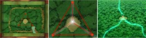 Gaara ditengah segitiga
