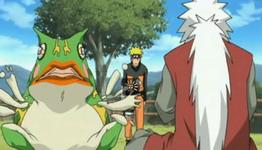 Jiraiya mengkritik Naruto dan Gamariki