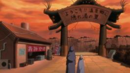 Kabuto dan Yuukimaru tiba di Yugakure