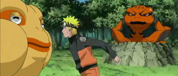Naruto, Gamatatsu dan Gamakichi