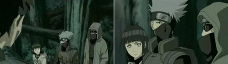 Kakashi dan yang lain diskusi tentang kikaichu