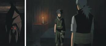 kelelawar memperhatikan Kabuto lalu Kabuto masuk kamar Guren