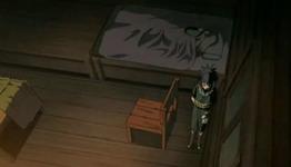 Yuukimaru berbaring di tempat tidur