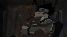 Konohamaru berhasil menangkap Tora