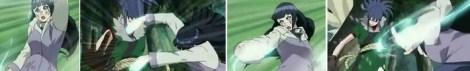 Hinata menyerang Guren