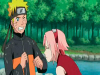 Sakura mengendus baju naruto yang bau