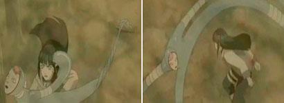 Hinata vs tubuh lentur Nurari