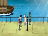 Kiba, Shino, Hinata dan Sakura