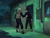 Mizuki mendatangi Iruka