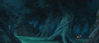 hutan tempat naruto membawa gulungan fuin