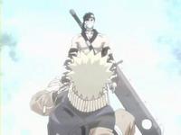 Zabuza mendatangi Naruto