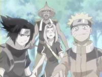 Tim 7 melindungi Tazuna