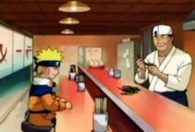 Naruto di Ichiraku ramen