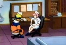 naruto dan Sakura diskusi tentang rambut pirang