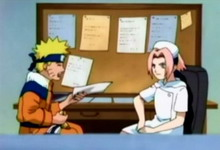 Naruto harus mengisi formulir