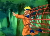 Naruto terkena perangkap