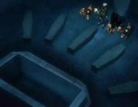 Peti mayat yang kosong