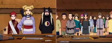 Gaara, Temari dan kankurou menjadi instruktur