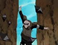 Ninja penjaga gerbang sempat melawan