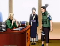 Hokage memberi misi pada Shikamaru