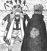 Pain Gakidou menjadi kodok