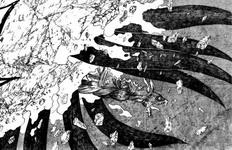 Naruto Yoko keluar dari Chibaku Tensei