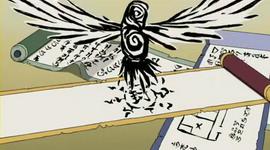 Tinta menjadi burung