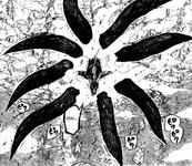 Naruto Yoko semakin keluar bola chibaku tensei