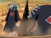 Akatsuki tiba di gerbang Suna