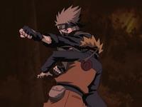Kakashi vs Naruto