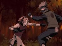 Kakashi vs Sakura