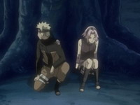 Naruto dan Sakura diskusi