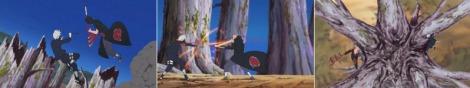 Kakashi vs Hidan