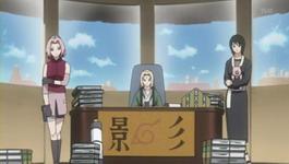 Sakura, Hokage dan Shizune