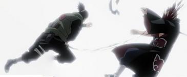 Shikamaru menyerang Hidan
