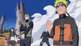 Naruto dkk tiba