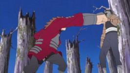 Chouji vs Kakuzu